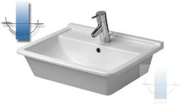 starck iii izlietne 56x46 5 cm. Black Bedroom Furniture Sets. Home Design Ideas