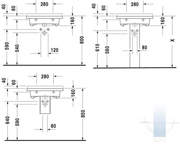 starck iii med izlietne 60x54 5 cm. Black Bedroom Furniture Sets. Home Design Ideas
