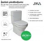 WC Jika Tigo ar lēni nolaižamo (soft close) vāku