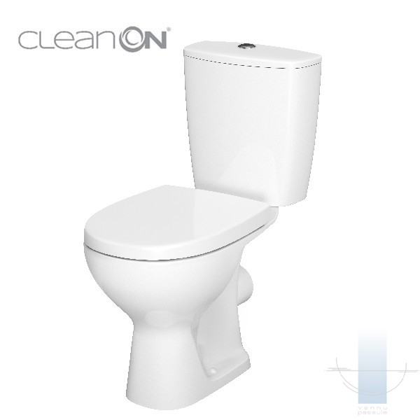 WC pods Arteco CleanOn ar Soft Close vāku 1